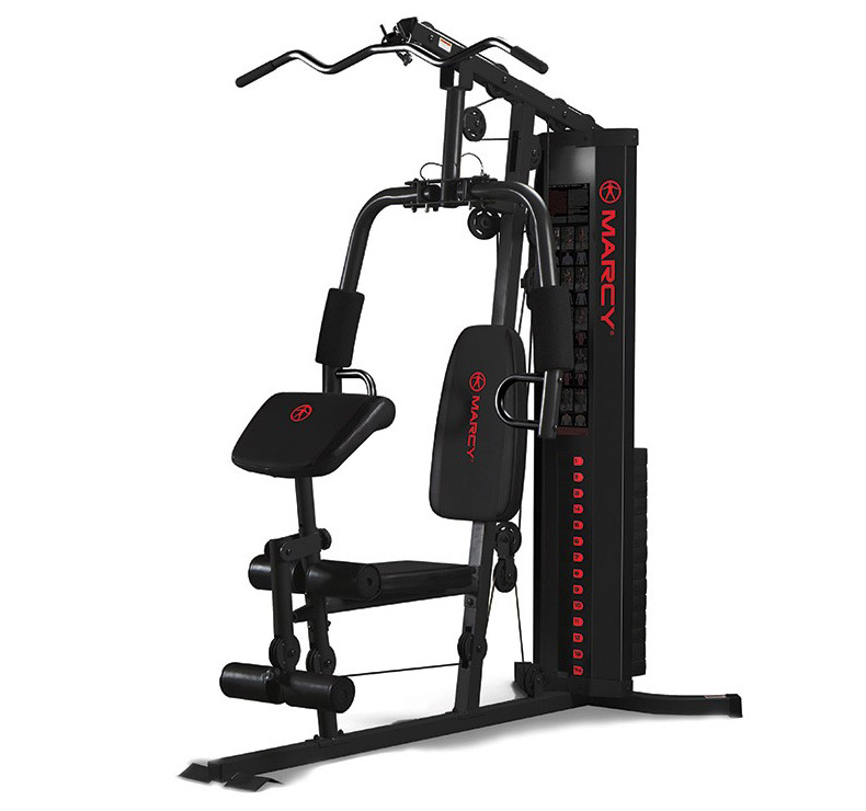 marcy eclipse hg3000 compact home gym fitnessdigital. Black Bedroom Furniture Sets. Home Design Ideas